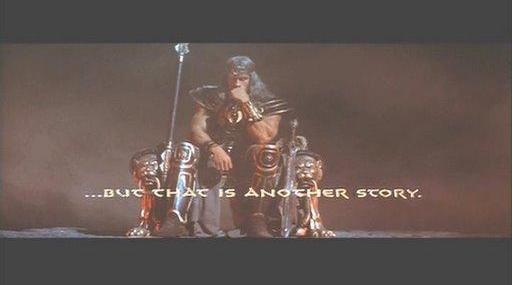 Arnoldo en el trono (guiño, guiño).