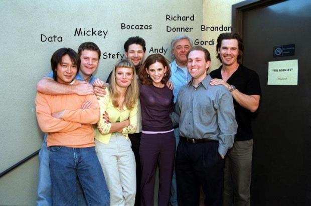El reencuentro de los protagonistas, que se produjo en Las Barranquillas en 2001.