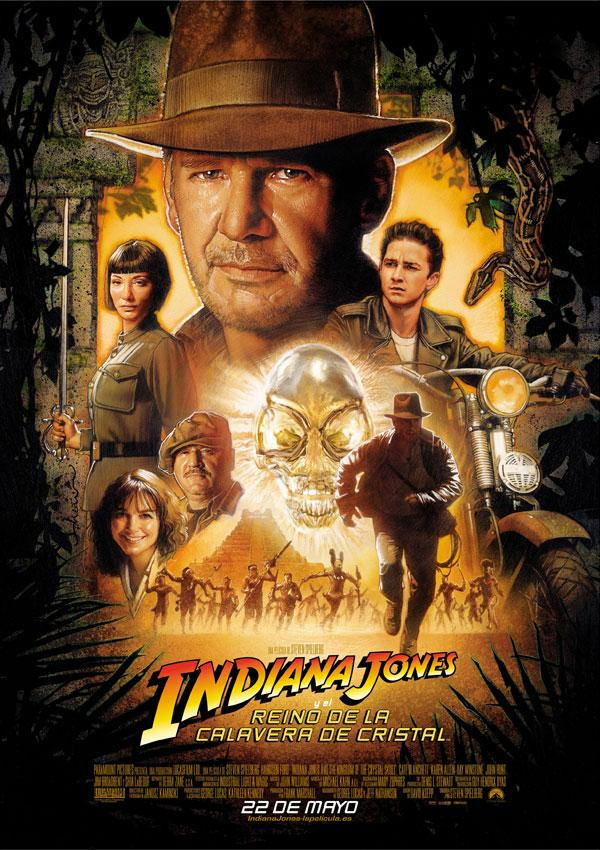 Indiana Jones y la calavera de cristal.