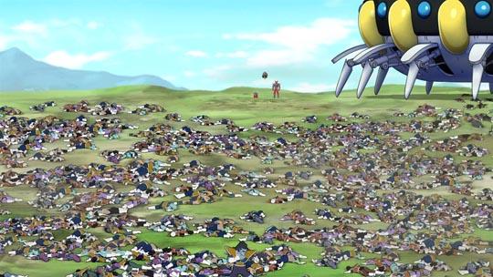 Dragon Ball Z La Resurrección de F - Batalla