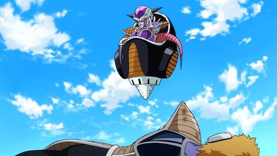Dragon Ball Z La Resurrección de F - Freezer destruye a todos