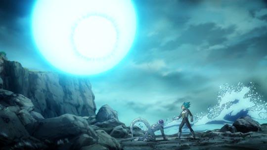 Dragon Ball Z La Resurrección de F - Goku, acaba con Freezer