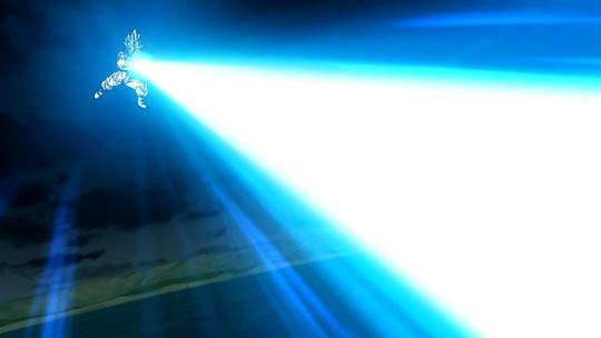 Dragon Ball Z La Resurrección de F - Goku, onda vital