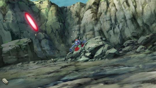 Dragon Ball Z La Resurrección de F - La muerte de Sorbet