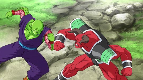 Dragon Ball Z La Resurrección de F - Piccolo Vs Shishami